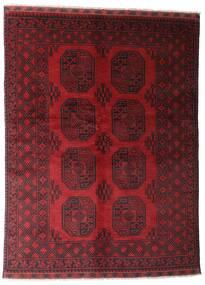 Afghan Tapis 146X195 D'orient Fait Main Rouge Foncé (Laine, Afghanistan)