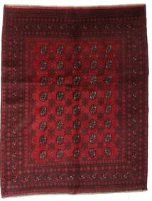 Afghan Tapis 150X188 D'orient Fait Main Rouge Foncé (Laine, Afghanistan)