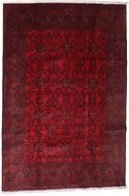Afghan Khal Mohammadi Tapis 192X288 D'orient Fait Main Rouge Foncé/Marron Foncé/Rouge (Laine, Afghanistan)