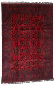 Afghan Khal Mohammadi Tapis 194X286 D'orient Fait Main Rouge Foncé/Rouge (Laine, Afghanistan)