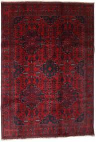 Afghan Khal Mohammadi Tapis 199X289 D'orient Fait Main Rouge Foncé (Laine, Afghanistan)