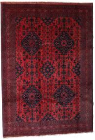 Afghan Khal Mohammadi Tapis 203X288 D'orient Fait Main Rouge Foncé (Laine, Afghanistan)