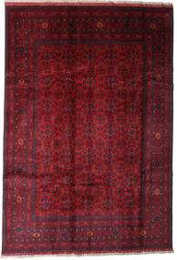 Afghan Khal Mohammadi Tapis 197X289 D'orient Fait Main Rouge Foncé (Laine, Afghanistan)