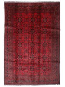 Afghan Khal Mohammadi Tapis 201X288 D'orient Fait Main Rouge Foncé/Rouge (Laine, Afghanistan)