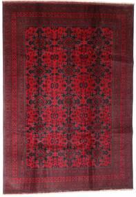 Afghan Khal Mohammadi Tapis 202X290 D'orient Fait Main Rouge Foncé (Laine, Afghanistan)