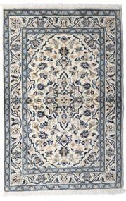 Kashan Tapis 100X150 D'orient Fait Main Gris Clair/Gris Foncé (Laine, Perse/Iran)