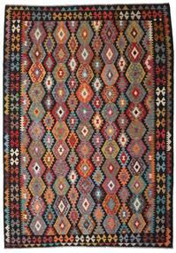Kilim Afghan Old Style Tapis 205X297 D'orient Tissé À La Main (Laine, Afghanistan)