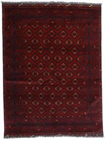 Kunduz Tapis 147X192 D'orient Fait Main Rouge Foncé (Laine, Afghanistan)