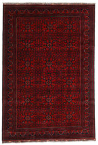 Kunduz Tapis 191X281 D'orient Fait Main Rouge Foncé (Laine, Afghanistan)