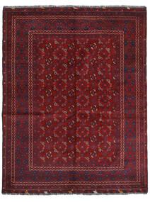 Kunduz Tapis 161X208 D'orient Fait Main Rouge Foncé (Laine, Afghanistan)