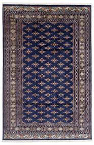 Pakistan Boukhara 2Ply Tapis 182X276 D'orient Fait Main Violet Foncé/Gris Clair (Laine, Pakistan)