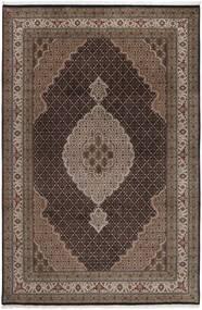 Tabriz Royal Tapis 199X292 D'orient Fait Main Marron Foncé/Marron ( Inde)