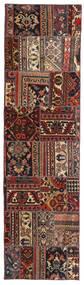 Patchwork - Persien/Iran Tapis 70X258 Moderne Fait Main Tapis Couloir Rouge Foncé/Noir (Laine, Perse/Iran)