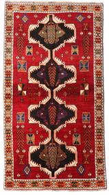 Ghashghaï Tapis 117X220 D'orient Fait Main Rouille/Rouge/Rouge Foncé (Laine, Perse/Iran)