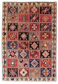 Ghashghaï Tapis 136X197 D'orient Fait Main Rouge Foncé/Marron Foncé (Laine, Perse/Iran)