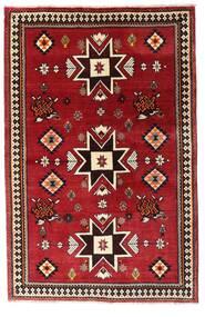 Ghashghaï Tapis 127X197 D'orient Fait Main Rouge Foncé (Laine, Perse/Iran)