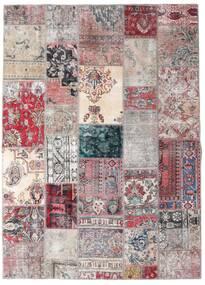 Patchwork - Persien/Iran Tapis 173X242 Moderne Fait Main Gris Clair/Violet Clair (Laine, Perse/Iran)