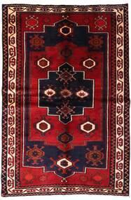 Lori Tapis 155X231 D'orient Fait Main Rouge Foncé (Laine, Perse/Iran)