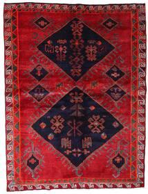 Lori Tapis 172X226 D'orient Fait Main Rouge/Violet Foncé (Laine, Perse/Iran)