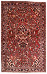 Sarough Sherkat Farsh Tapis 132X208 D'orient Fait Main Rouge Foncé/Marron Foncé (Laine, Perse/Iran)