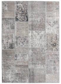Patchwork - Persien/Iran Tapis 140X200 Moderne Fait Main Gris Clair (Laine, Perse/Iran)