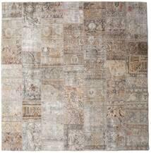 Patchwork - Persien/Iran Tapis 252X256 Moderne Fait Main Carré Gris Clair Grand (Laine, Perse/Iran)