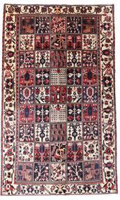 Bakhtiar Tapis 160X260 D'orient Fait Main Marron Foncé/Rouge Foncé (Laine, Perse/Iran)