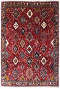 Yalameh Tapis 200X292 D'orient Fait Main Rouge Foncé (Laine, Perse/Iran)