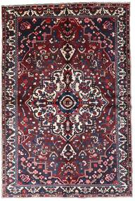 Bakhtiar Tapis 160X241 D'orient Fait Main Rouge Foncé/Noir (Laine, Perse/Iran)