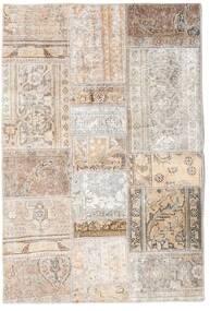 Patchwork - Persien/Iran Tapis 105X156 Moderne Fait Main Gris Clair/Beige (Laine, Perse/Iran)