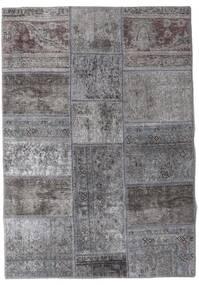 Patchwork - Persien/Iran Tapis 106X152 Moderne Fait Main Gris Clair/Gris Foncé (Laine, Perse/Iran)