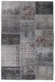 Patchwork - Persien/Iran Tapis 104X155 Moderne Fait Main Gris Foncé/Gris Clair (Laine, Perse/Iran)