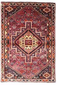 Ghashghaï Tapis 107X156 D'orient Fait Main Rouge Foncé/Marron Foncé (Laine, Perse/Iran)