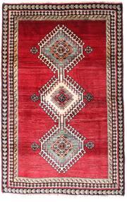 Ghashghaï Tapis 120X185 D'orient Fait Main Rouge Foncé/Rouge (Laine, Perse/Iran)