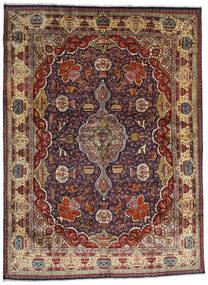 Kashmar Tapis 294X396 D'orient Fait Main Rouge Foncé/Marron Foncé/Marron Clair Grand (Laine, Perse/Iran)