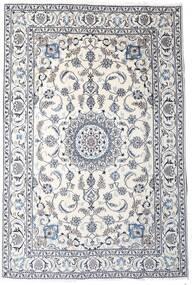 Naïn Tapis 189X283 D'orient Fait Main Gris Clair/Beige/Blanc/Crème (Laine, Perse/Iran)