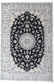 Naïn Tapis 200X297 D'orient Fait Main Blanc/Crème/Gris Clair (Laine, Perse/Iran)