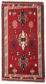 Kilim Vintage Tapis 163X304 D'orient Tissé À La Main Tapis Couloir Rouge/Marron Foncé (Laine, Perse/Iran)