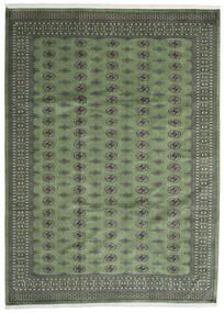 Pakistan Boukhara 2Ply Tapis 250X344 D'orient Fait Main Gris Foncé/Vert Olive Grand (Laine, Pakistan)