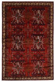 Baloutche Tapis 192X294 D'orient Fait Main Rouge Foncé/Marron Foncé (Laine, Perse/Iran)
