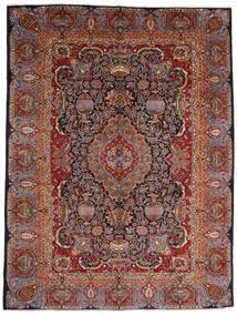 Kashmar Tapis 289X386 D'orient Fait Main Rouge Foncé/Marron Foncé Grand (Laine, Perse/Iran)