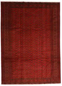 Turkaman Tapis 248X340 D'orient Fait Main Rouge/Rouille/Rouge (Laine, Perse/Iran)