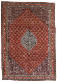Bidjar Tapis 221X320 D'orient Fait Main Marron Foncé/Rouge Foncé (Laine, Perse/Iran)