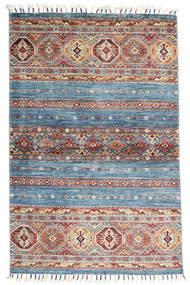 Shabargan Tapis 97X150 Moderne Fait Main Gris Foncé/Gris Clair (Laine, Afghanistan)