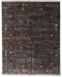 Shabargan Tapis 159X195 Moderne Fait Main Marron Foncé/Gris Foncé (Laine, Afghanistan)