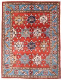 Kazak Tapis 149X195 D'orient Fait Main Rouille/Rouge/Rouge Foncé (Laine, Afghanistan)