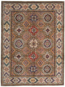 Kazak Tapis 270X359 D'orient Fait Main Marron/Marron Clair Grand (Laine, Afghanistan)