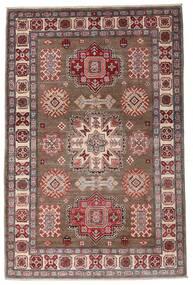 Kazak Tapis 121X182 D'orient Fait Main Marron Foncé/Marron (Laine, Afghanistan)
