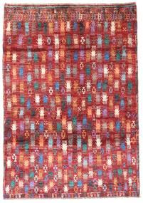 Moroccan Berber - Afghanistan Tapis 115X169 Moderne Fait Main Rouge Foncé/Rouille/Rouge (Laine, Afghanistan)