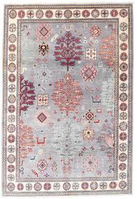 Kazak Tapis 120X176 D'orient Fait Main Violet Clair/Rose Clair (Laine, Afghanistan)